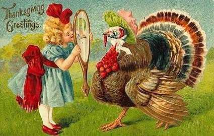 I'm a handsome turkey!
