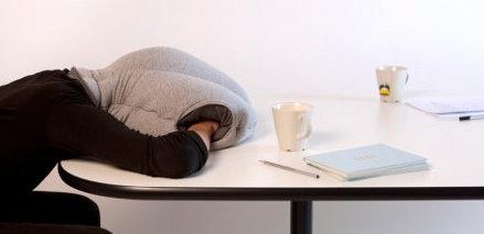 Ostrich Pillow or suicide bag?